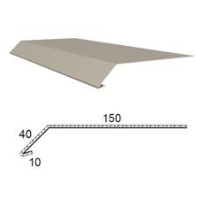 Okapnice z poplastovaného plechu Viplanyl r.š. 200 mm