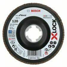 Kotouč brusný lamelový Bosch X571 Best for Metal X-LOCK 115×22,23 mm 120 10 ks