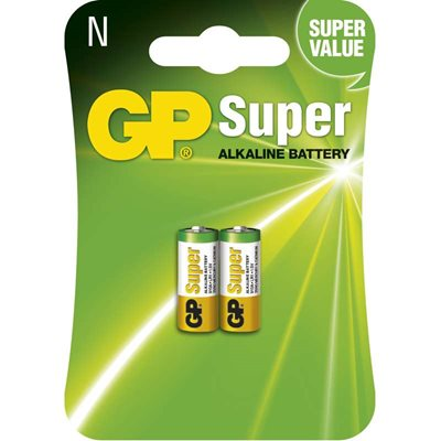Baterie alkalická speciální GP SUPER 910A (2 ks/bal)