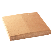 Deska zákrytová BEST V karamel výška 70 mm