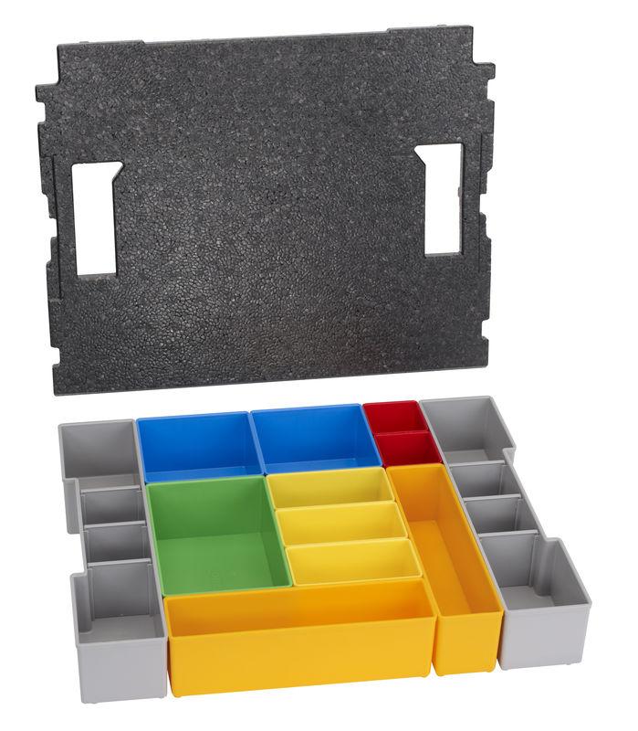12dílná sada vkládacích boxů pro BOSCH L-BOXX 102 Professional