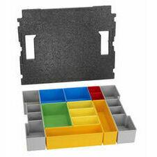 Sada vkládacích boxů Bosch L-BOXX 102 12 ks
