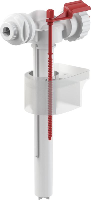 """Napouštěcí boční ventil Alcaplast A15P-1/2"""" kovový závit pro plastové nádržky"""