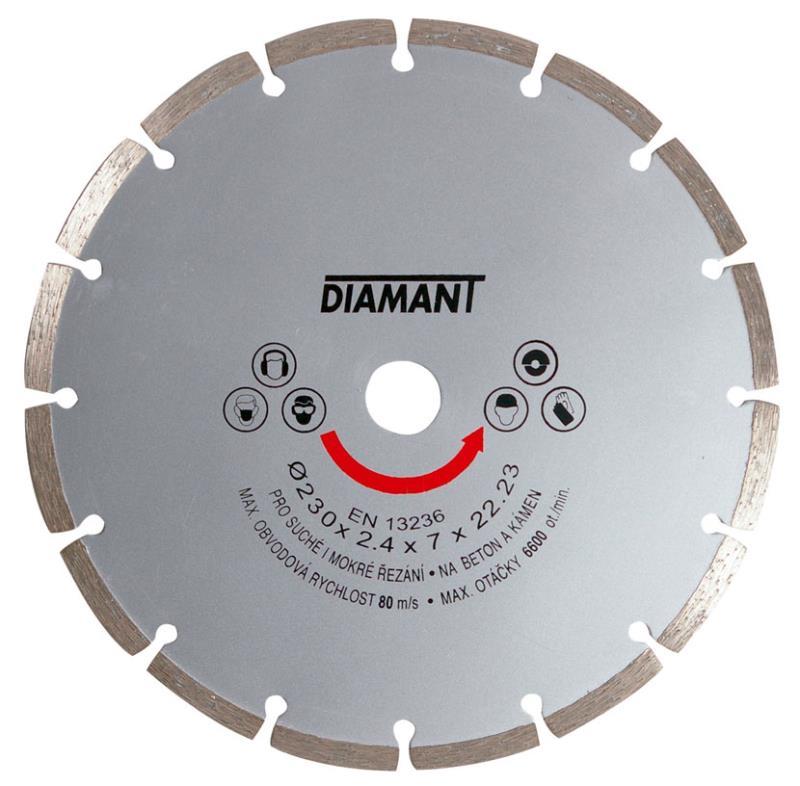Brusný diamantový kotouč 230 mm
