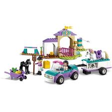 LEGO® FRIENDS Auto s přívěsem a výcvik koníka