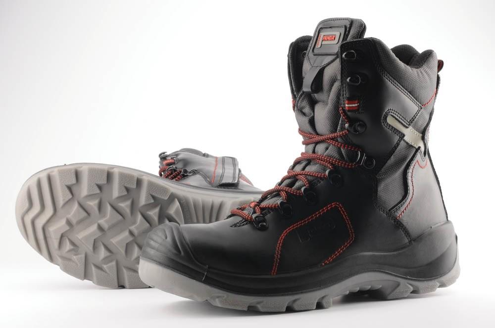 Vysoká obuv TOP CLASSIC STRALIS S3 SRC, černo/červená, vel. 46