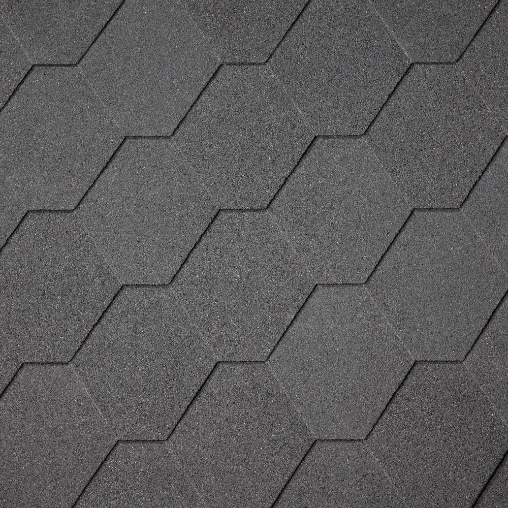 Asfaltový šindel IKO ArmourShield 01 Černá