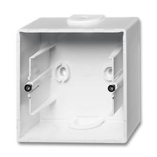 Krabice přístrojová nástěnná Future linear studio bílá