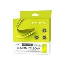 Pásek LED Led-Pol 12 V 14,6 W/m žlutá