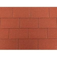 Šindel asfaltový Tegola ECO roof rectangular červený 3,05 m2