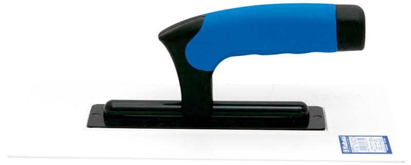 Plastové hladítko 270×130×3 mm, hladké, guma gum.ruč. - KU0375