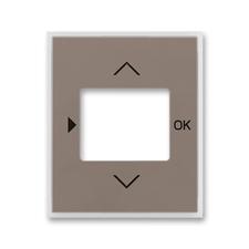 Kryt ovladače časovacího s otvorem pro displej Time lungo / mléčná bílá