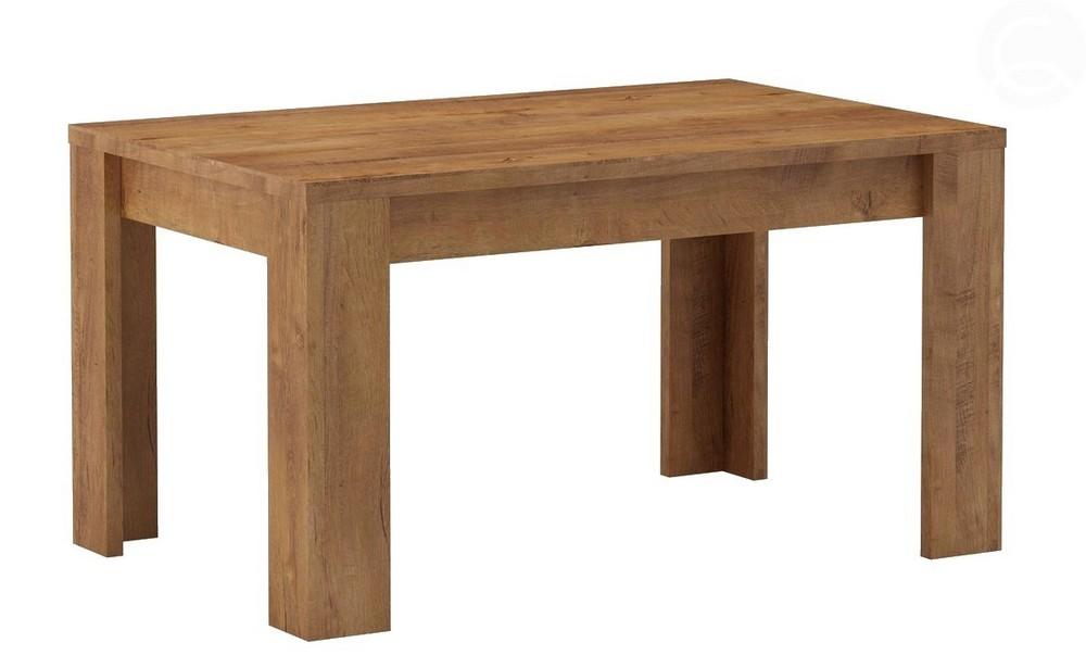 Jídelní stůl rozkládací 120 INDIANAPOLIS jasan světlý, cena za ks