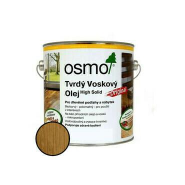 Olej tvrdý voskový Osmo Original 3065 bezbarvý 2,5 l