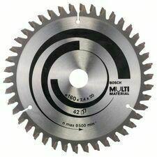 Kotouč pilový Bosch Multi Material 160×20/16×1,8 mm 42 z.