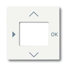 Kryt ovladače časovacího nebo termostatu Future linear mechová bílá