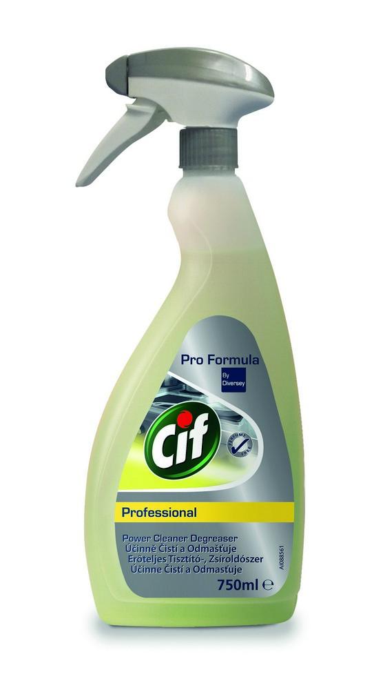 Čistič a odmašťovač CIF Professional 750 ml, cena za ks