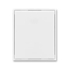 Kryt spínače jednoduchý Time/Element bílá