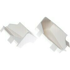 Roh vnitřní Kronoflooring K58C bílý, 2 ks/bal.