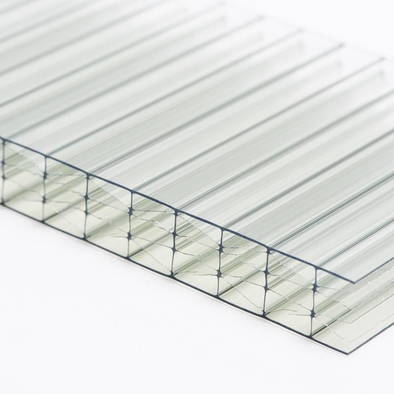Polykarbonátová dutinková deska MULTICLEAR 16 STRONG 6W green s UV ochranou 2100×6000 mm