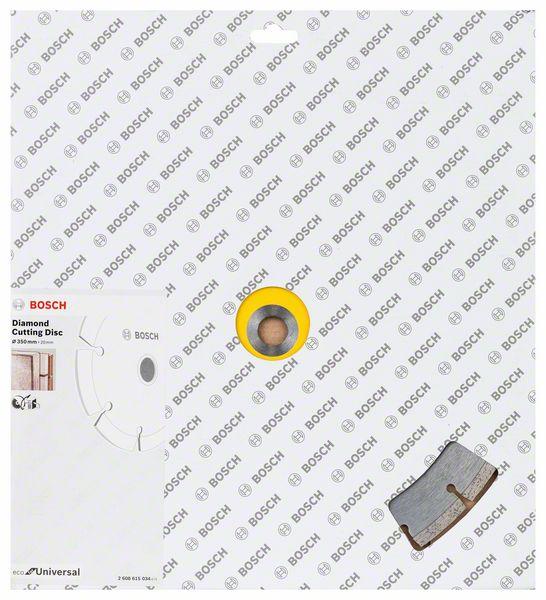 Kotouč řezný diamantový Bosch Eco For Universal 350×20×3,2×8 mm
