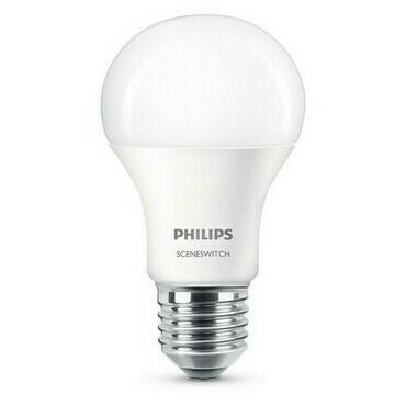 Žárovka LED Philips E27 9,5 W 2 700–4 400 K