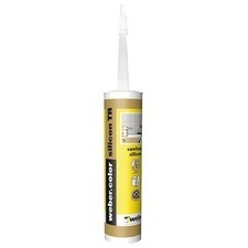 Tmel silikonový sanitární webercolor silikon 310 ml cement