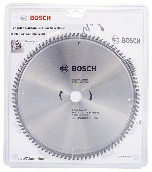 Kotouč pilový Bosch Eco for Aluminium 305×30×2,2 mm 96 z.