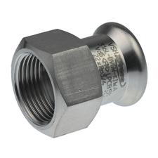 """Lisovací přechodka uhlíková ocel Sanha Therm 18×3/4"""" vnitřní 24270G"""