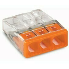 Svorka krabicová 3x2,5 mm2, WAGO 2273-203 (30ks/bal)