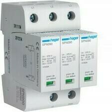 Svodič přepětí T1+T2 Hager SPN900