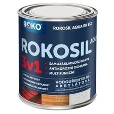 Barva samozákladující Rokosil Aqua 3v1 RK 612 sv. hnědá, 0,6 l