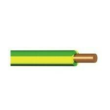Vodič H07V-U (CY), 4 mm2, zelenožlutá
