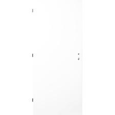 Dveře ocelové zateplené jednokřídlé levé barva RAL 9010