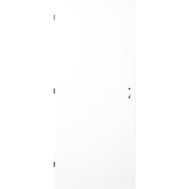 Dveře ocelové protipožární jednokřídlé pravé barva RAL 9010