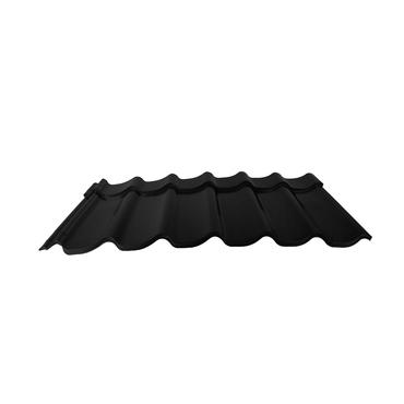 Velkoformátová profilovaná plechová střešní krytina MAXIDEK SP35TEX 2N09A černá