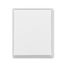 Kryt stmívače s krátkocestným ovladačem Time/Element bílá / ledová bílá