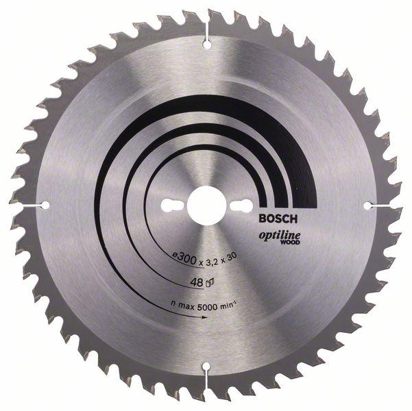 Kotouč pilový Bosch Optiline Wood 300×30×2,2 mm 48 z.