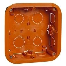 Krabice instalační Schneider Unica, 2× 4 moduly