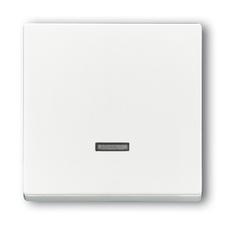Kryt stmívače s krátkocestným ovladačem Future/Solo studio bílá