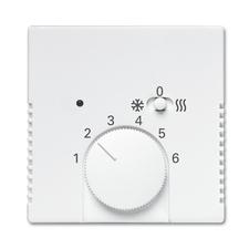 Kryt termostatu s posuvným přepínačem Future/Solo studiobílá