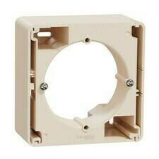 Krabice nástěnná Schneider Sedna Design béžová