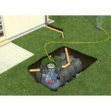 Sestava nádrže na dešťovou vodu Graf Platin Garten Komfort, 1500 l