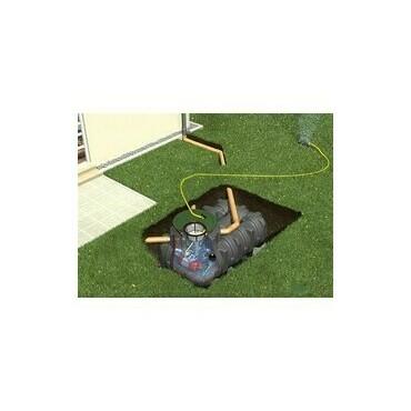 Sestava nádrže na dešťovou vodu Graf Platin Garten Komfort, 3000 l