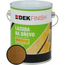 Lazura na dřevo DEKFINISH  ořech 2,5 l