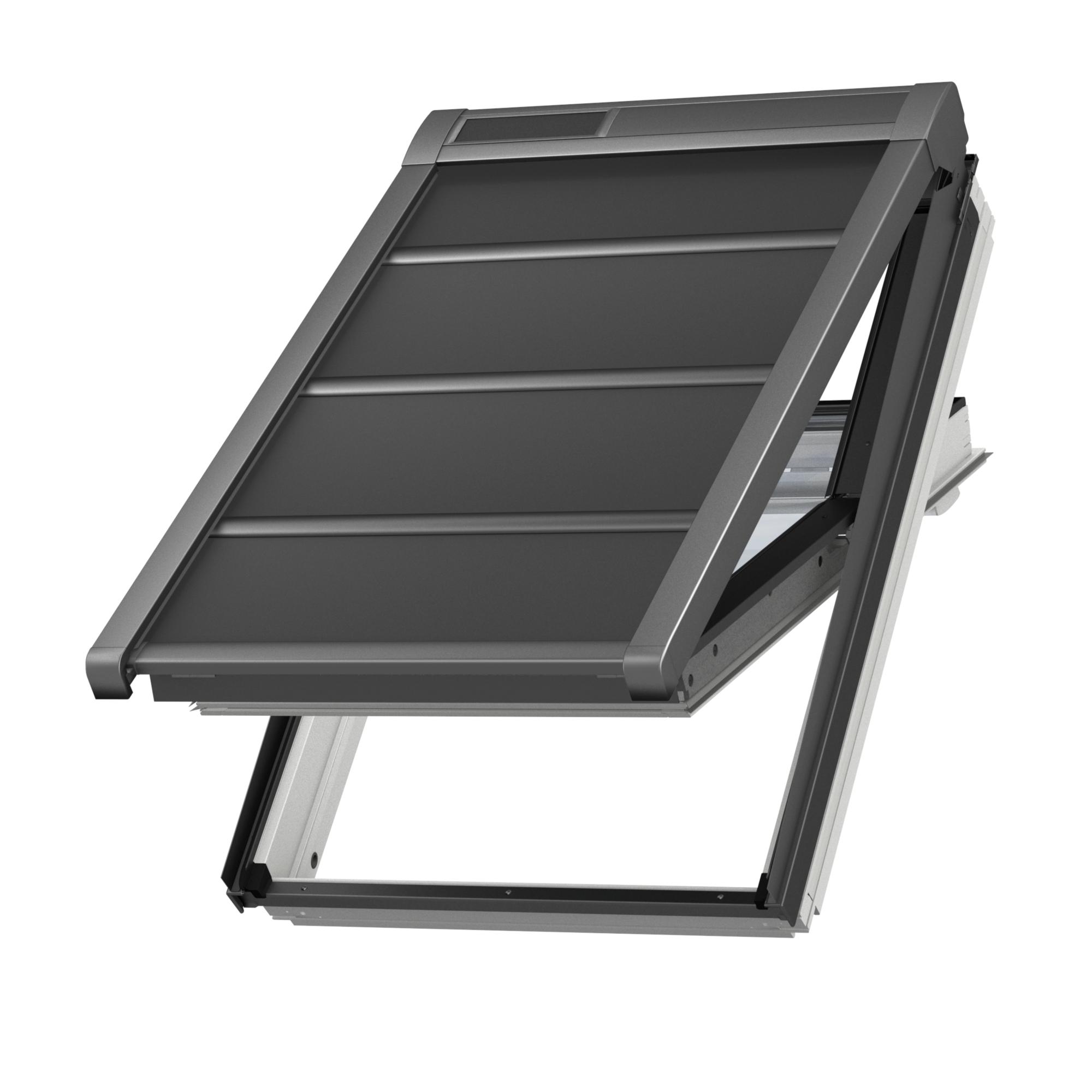 Roleta venkovní lehká Velux SSS na solární pohon MK04