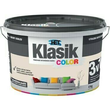 Malba interiérová HET Klasik Color béžový pískový, 4 kg