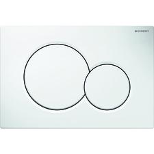 115.770.11.5 Ovládací tlačítko pro předstěnové moduly Geberit Sigma 01, Alpská bílá