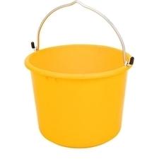 Vědro plastové zesílené Berdal Gripline 20 l žluté
