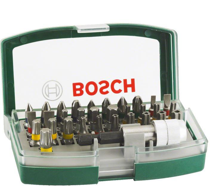 Sada bitů Bosch s barevným rozlišením (32 ks/sada)